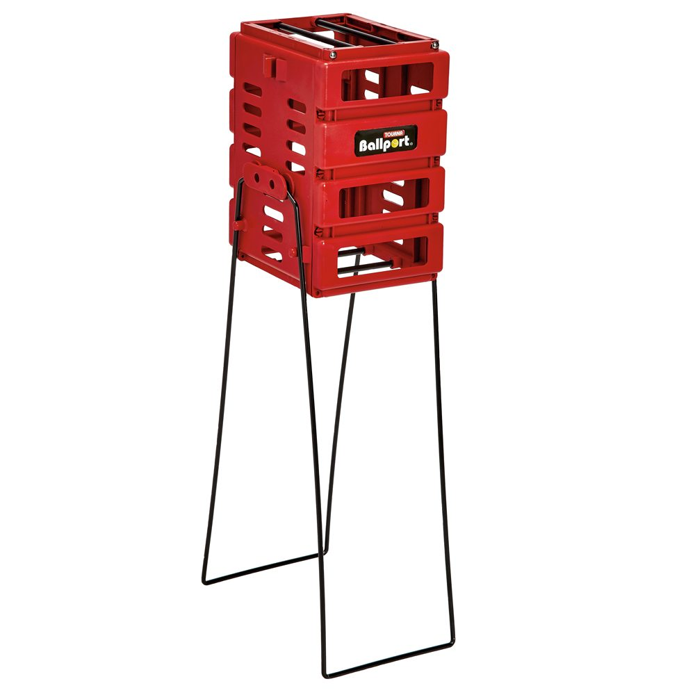 Ballport Mini (Red) - Holds 36 Balls