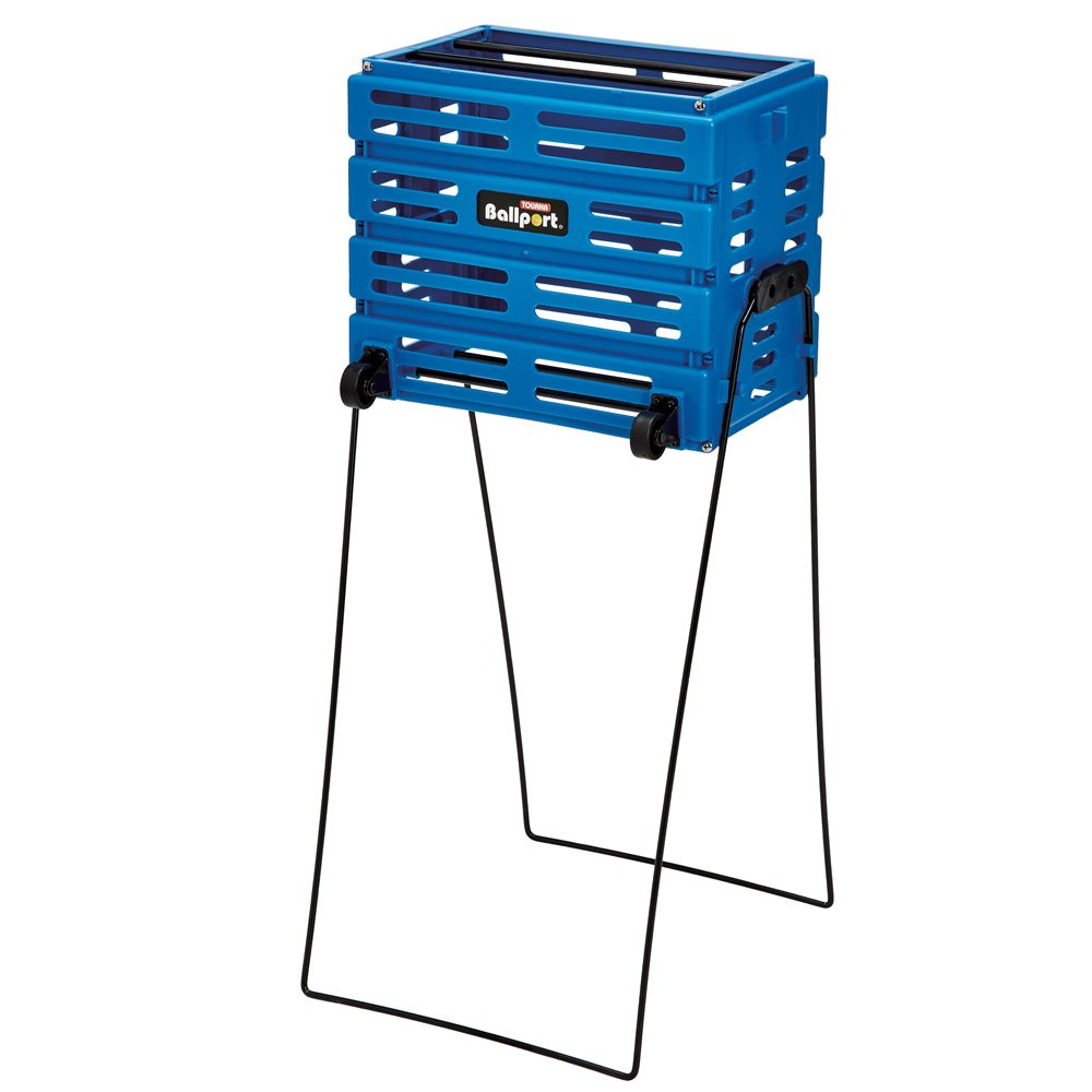 Deluxe Ballport With Wheels (Blue) - holds 80 balls