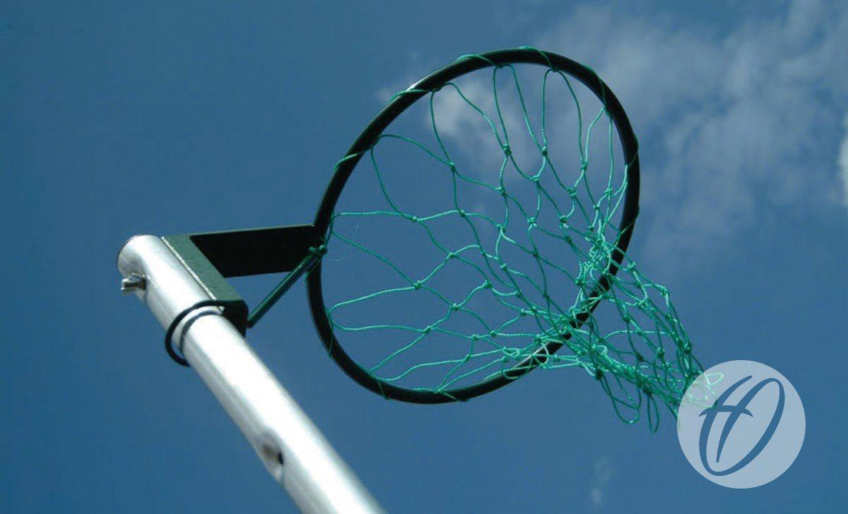REGULATION NETBALL POSTS - FREESTANDING, 16MM RING