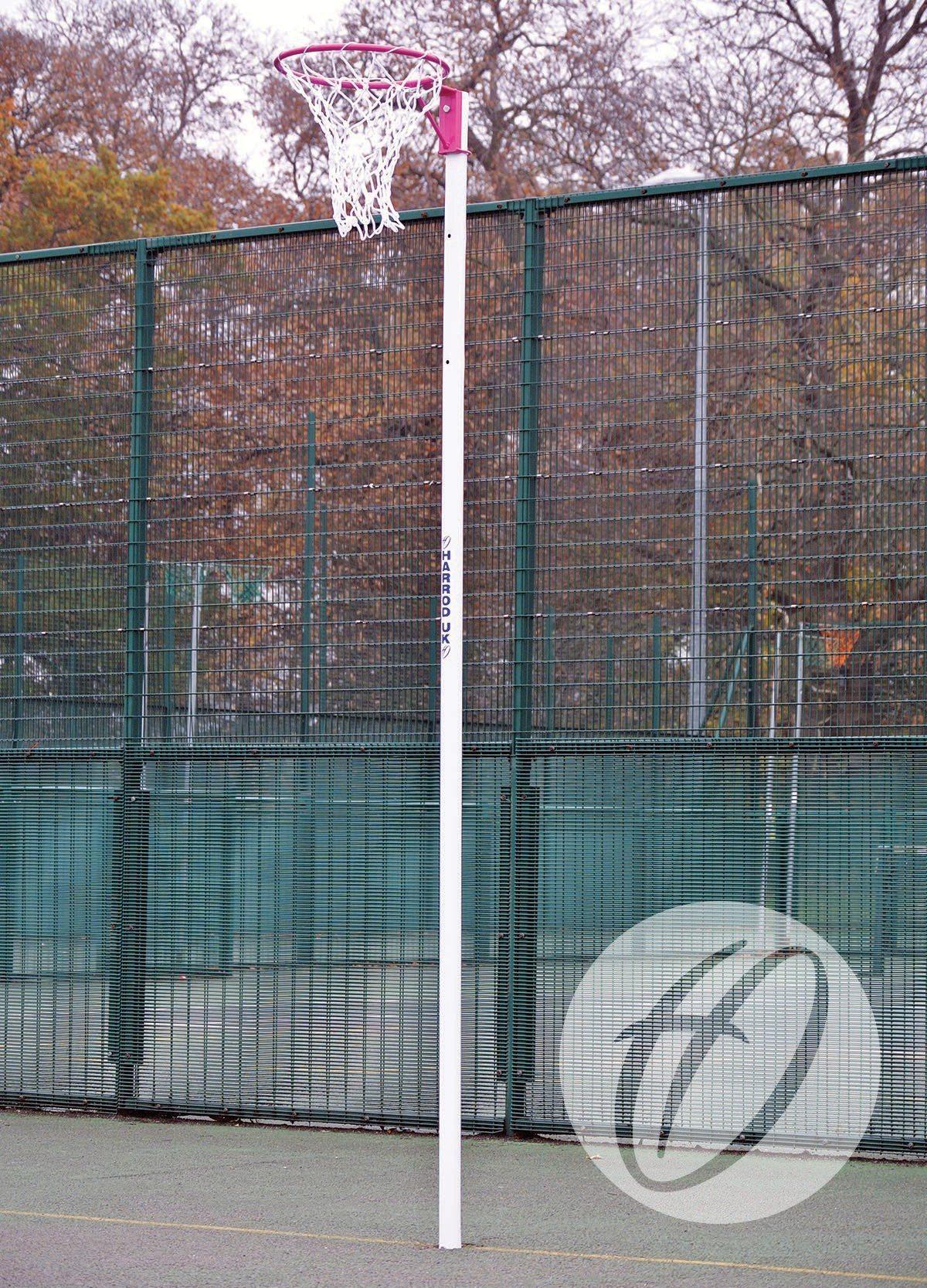 PRACTICE WHITE NETBALL NETS